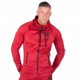 Gorilla Wear - Bridgeport Zipped Hoodie Red