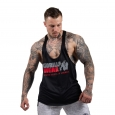 Gorilla Wear - Nashville Tank Top Black/Red