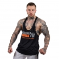 Gorilla Wear - Nashville Tank Top Black/Neon Orange