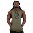 Gorilla Wear - Lawrence Hooded Tank Top Army Green