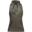 Gorilla Wear - Manti Sleeveless Hoodie Army Green