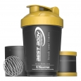 Best Body Nutrition - Eiweiß Shaker USBottle - schwarz/gold
